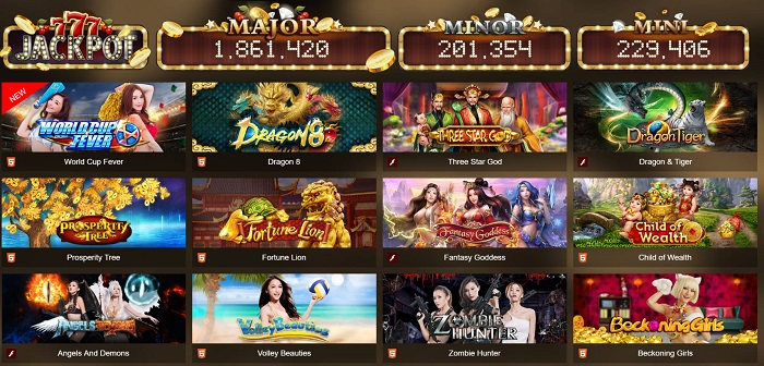 Jackjot Game Slot สล็อต